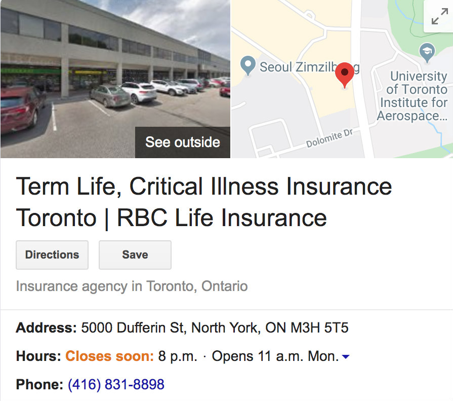 RBC Life Insurance Reviews Google