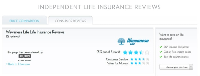 Wawanesa Life Insurance Review