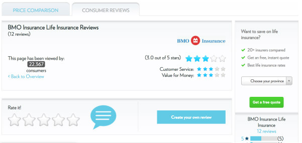 BMO life insurance customer service