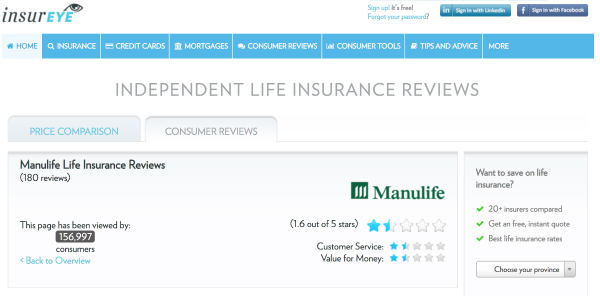 Manulife Life Insurance Insureye Review