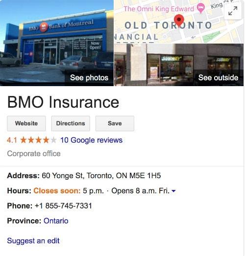 bmo guaranteed life insurance